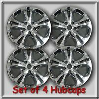 Dodge Durango Wheel Skins 2013-2014 18 Chrome Hubcaps Wheel Covers Set Of 4