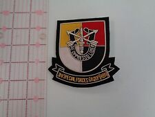 3rd  Special Forces Group  Large Bullion Pocket Patch  Green Berets