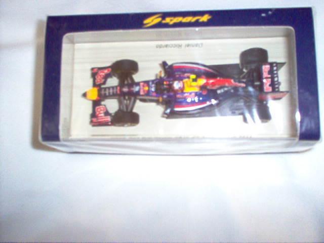 NEW SPARK F1  1 43 Daniel Ricciardo  Red Bull RB10  Australian GP 2014