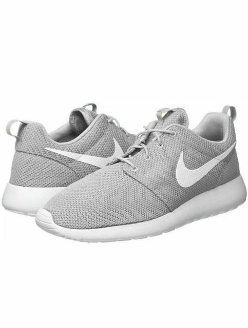 Nike Men's Roshe One Casual Shoes GreyWhite