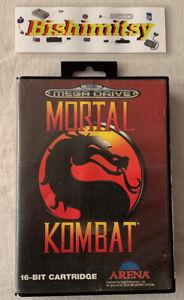 Mortal Kombat - Sega Mega drive Game