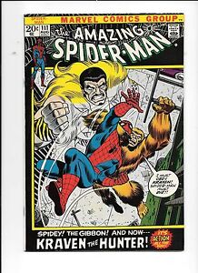 The-Amazing-Spider-Man-111-August-1972-Kraven-The-Hunter-and-Gibbon