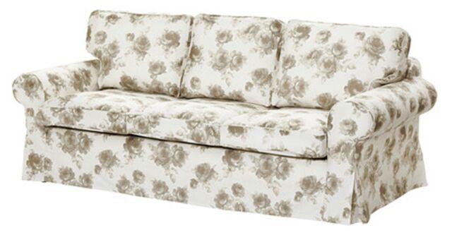 Etonnant Ikea Ektorp 3 Seat Sofa Bed (Pixbo) Cover   Norlida White/Beige 002.266