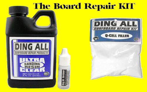 Ding All Polyester Sanding Resin Hardener Q Cell Filler Repair Surfboard Qcell