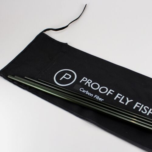 10/' 4wt. 4pc. Czech nymph rod Proof Fly Fishing Graphite fly rod blank w//sock
