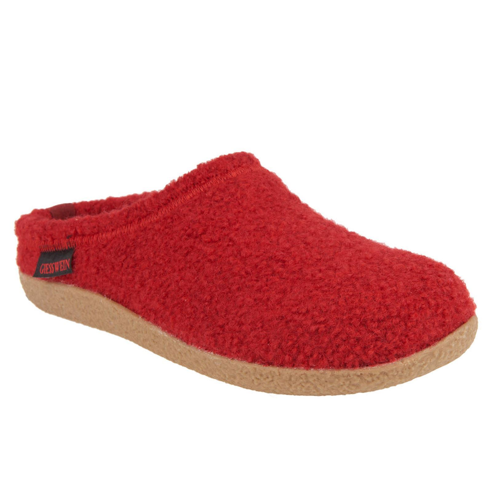 Billig hohe Qualität Giesswein Veitsch Red Mens Sandals