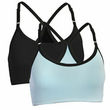 Fruit Of The Loom Signature Ladies 2 Pack Breathable Sports Bras