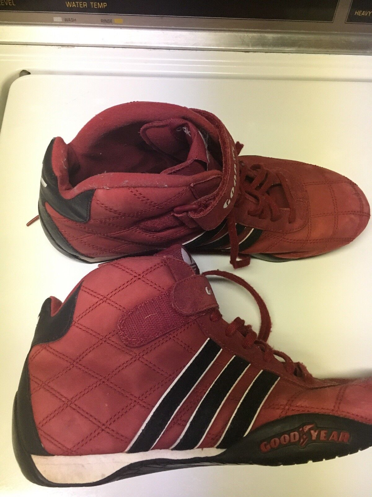 ADIDAS GOODYEAR Red  Racing Shoes