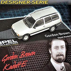 100% De Qualité Opel Kadett E Mobil Home 1984-89 Argent Métallique 1:43 Concepteur Série Gordon