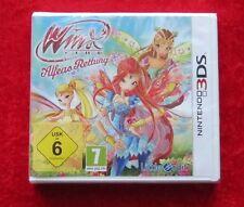 Winx Club Alfeas Rettung, Nintendo 3D 3DS Spiel, Neu, deutsche Version