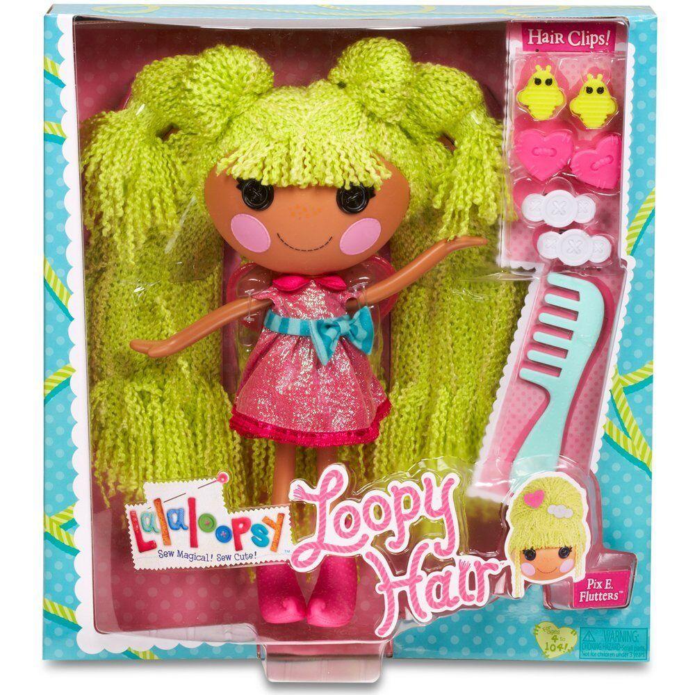 Lalaloopsy-sta facendo impazzire i capelli-PIX E. eccitante, Bambola con Clip per Capelli Clip