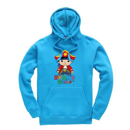 Ryan/'s World Sailor Design Kids Hoodie Hooded Sweatshirt Ages 3-13