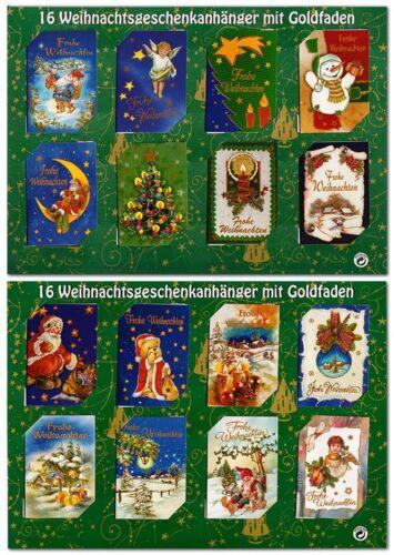 10//20//30 Geschenktüten Weihnachten 36x13x8,5 Flaschentüten Glimmer 22-0151-1