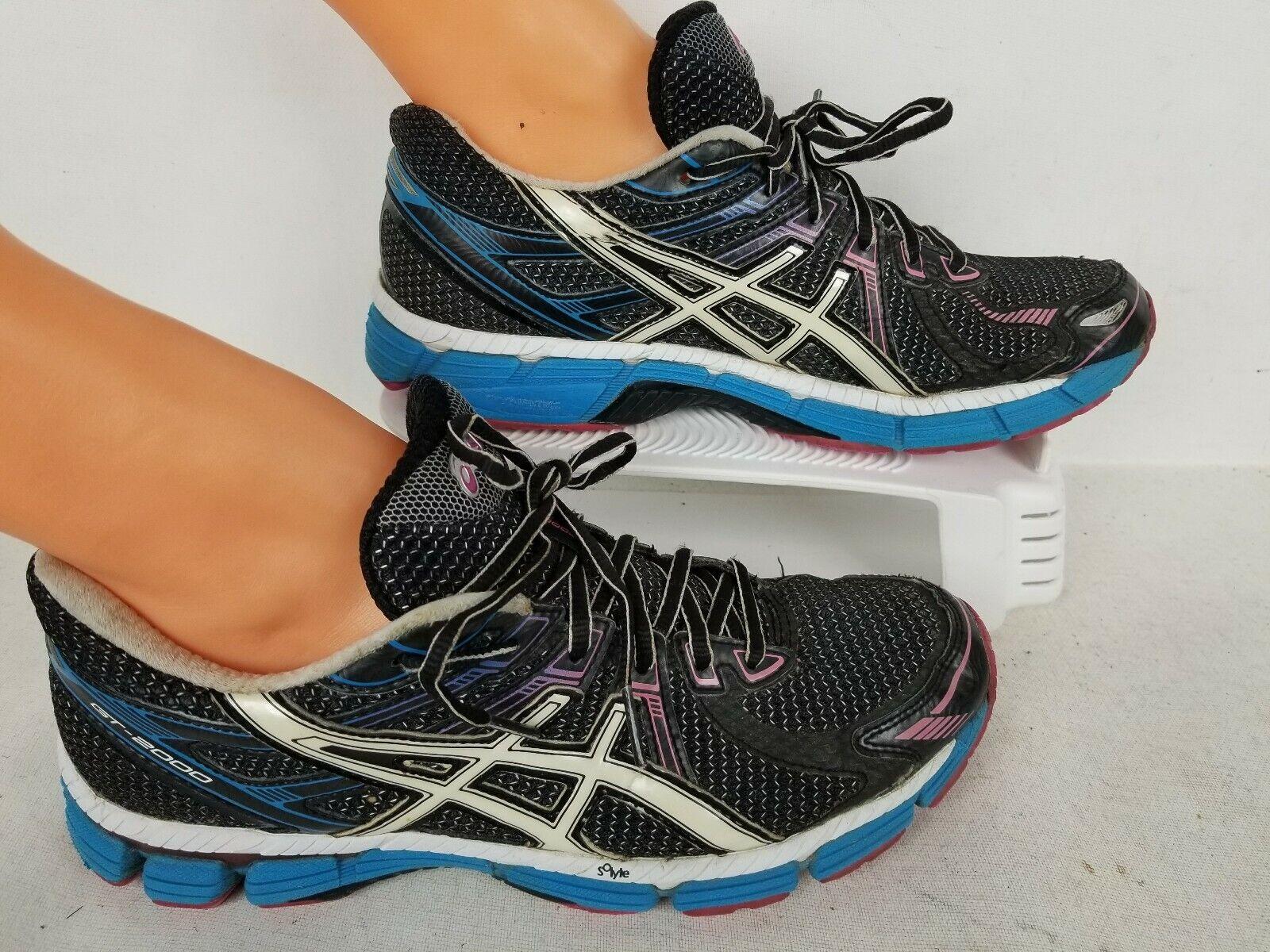 ASICS GT-2000 GYM RUNNING TRANING WALKING SHOES SNEAKERS WOMEN'S SIZE 9.5