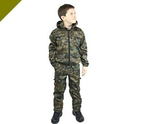 Costume Pantalon Veste De L'armée Américaine Enfants Adolescents Pêcher Outdoor Migration Paintball-afficher Le Titre D'origine Soulager Le Rhumatisme