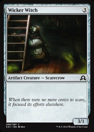 4x Wicker Witch MTG Shadows over Innistrad NM Magic Regular