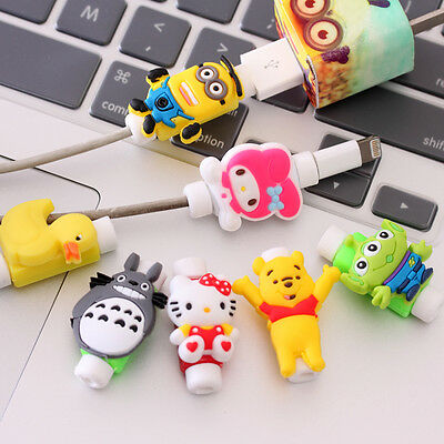 new USB Data Charger Cable Saver Protector for iPhone 5c 5s 6 6s Plus Protective