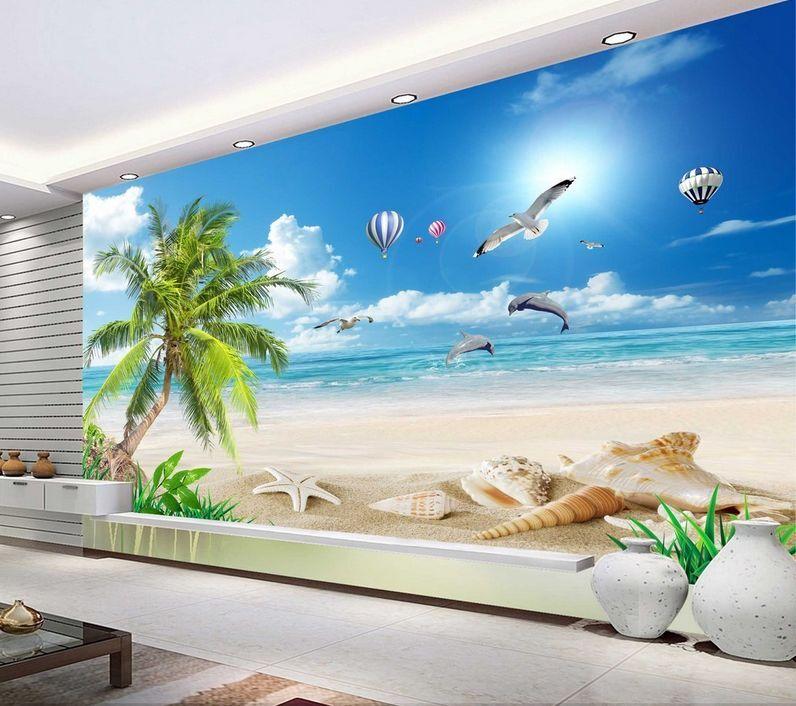 3D Mega Infinite Ocean Scenery 289Wall Paper Wall Print Print Print Decal Wall AJ Wall Paper be6494