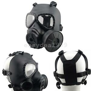 Paintball-Tactical-Airsoft-Game-Face-Protection-Safety-Mask-Guard-Toxic-Gas-Mask