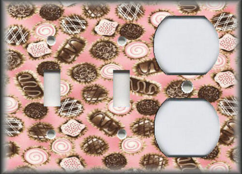 Sweet Treats Chocolate Decor Candy Home Decor Metal Light Switch Plate Cover