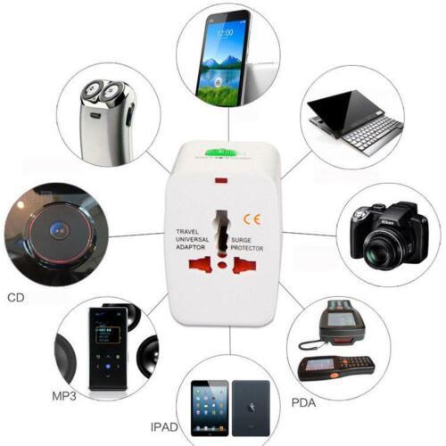 CHEAP US To EU Universal World Travel AC Power Changer Plug Adapter Convertor TX