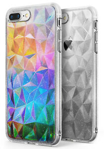 18034e6313667 Details about iPhone 7 Plus / iPhone 8 Plus Case, Ringke [AIR PRISM] [FREE  Holographic Film]