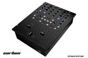 Skin Decal Wrap pour RANE SIXTY-One DJ Mixer CD Pro Audio pièces DJM CDJ Carbone