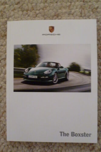 2010 Porsche Boxster Boxster S Showroom Advertising Sales Brochure Awesome L@@K