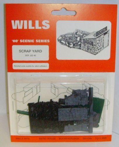 Scrap Yard 00 Gauge Wills SS40 Kit NEW