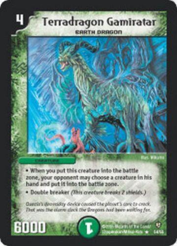 Duel Master TGC Terradragon Gamiratar,Epic Dragons of Hyperchaos DM08