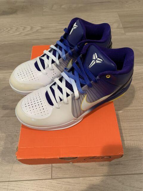 Nike Zoom Kobe 4 Home Gradient Lakers