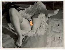 L'origine du monde Courbet en art photo vintage 1940 lingerie akt foto GD FORMAT