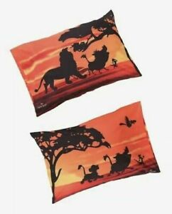 Disney The Lion King Two 2 Pack Pillow Cases 20 in x 30 in Simba Pumba Timon