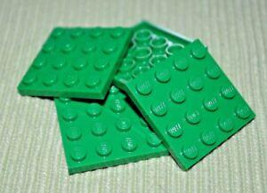 1x2 Red Standard Plate Bricks ~ Lego ~ NEW ~ Castle 10
