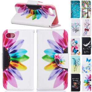 Shockproof-Leather-Stand-Card-Pocket-Colorful-Case-Cover-For-Apple-iPhone-Phones