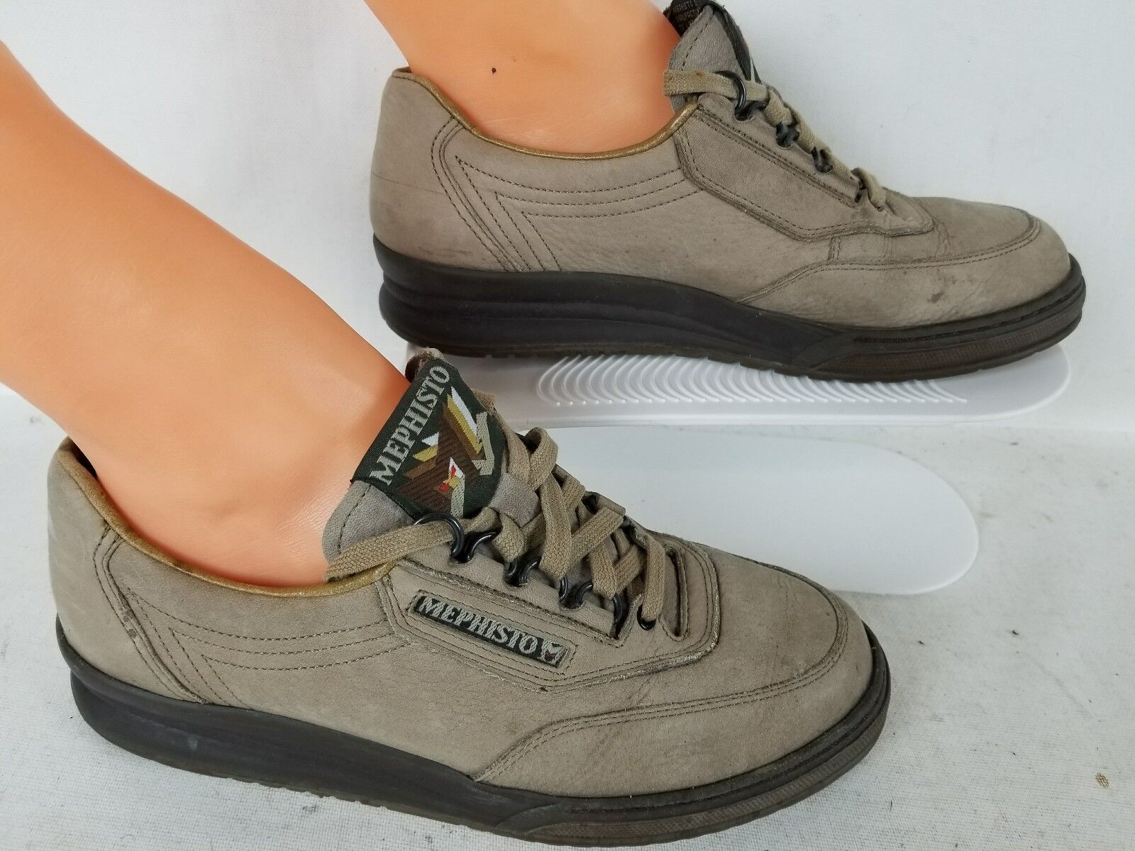 MEPHISTO WOMEN'S RUNOFF AIR JET SYS COMFORT ATHLETIC WALKING SHOES SZ US 8  375