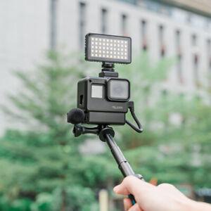 Para Buceo Impermeable Lámpara Puntual De Luz De Vídeo Led Para Cámara Gopro Hero 8 Ebay