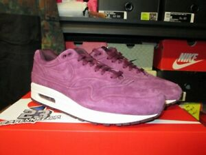 save off 54405 f16c5 Image is loading SALE-NIKE-AIR-MAX-1-PREMIUM-PRM-BORDEAUX-