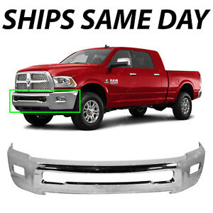 NEW Chrome - Steel Front Bumper Face Bar for 2010-2018 RAM 2500 3500 Pickup 646621361337
