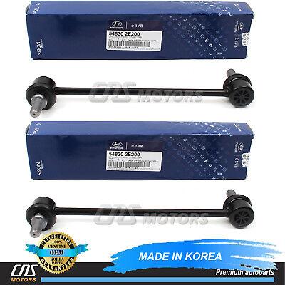 2 Premium Front Sway Bar Links for 05-10 Kia Sportage /& Hyundai Tucson