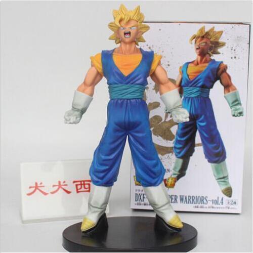 Mens Japan Anime Dragon Ball Saiyan Gogeta Fuse Statue PVC Figure Model Doll Toy