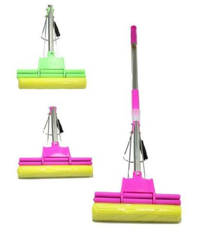 Rinse and Squeeze Expandable Home Kitchen Cleaning Mop available assorted color