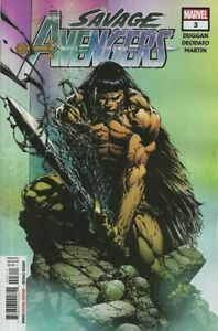 Savage-Avengers-Vol-1-3-Near-Mint-NM-Marvel-Comics-MODERN-AGE