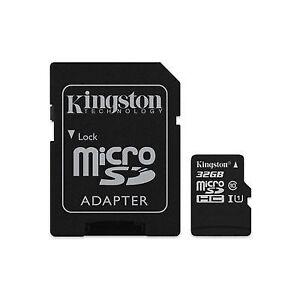 Memory Card MicroSD 32gb Uhs-i C10 Kingston Canvas Select Sdcs/32gb Dgsc-29890