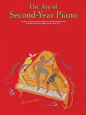 The Joy of Second-Year Piano Sheet Music Book NEW 014048166