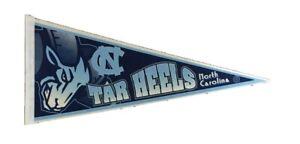 Vintage UNC felt Pennant University of North Carolina Tar Heels NC sigillum universitat Carol septent 14 34 with streamers