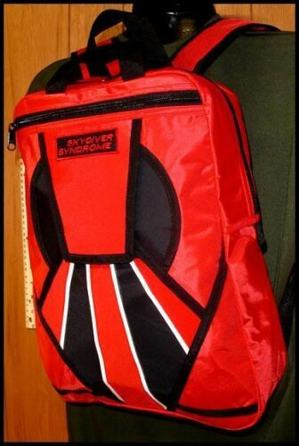 Skydiver Syndrome Backpack Parachute Rig Gear Bag S04