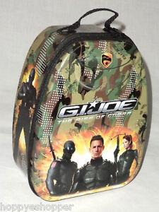 Collectible-G-I-Joe-Tin-Lunch-Box-Backpack-Zip-Hasbro-Rise-of-Cobra-Small
