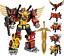 Transformers-WeiJiang-Predaking-Combiner-5-In-One-Set-Feral-Rex-Action-Figure thumbnail 1