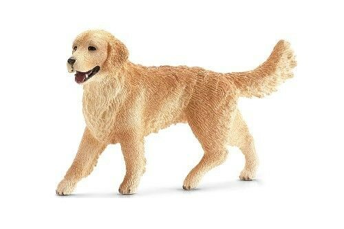 Golden Retriever Dog Miniature Dollhouse Picture